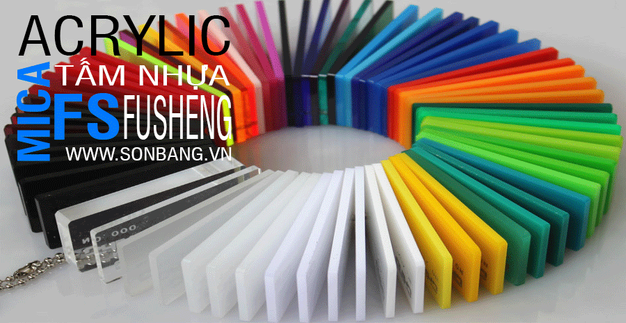 Bảng giá bán 2 loại tấm nhựa mica được ưa chuộng