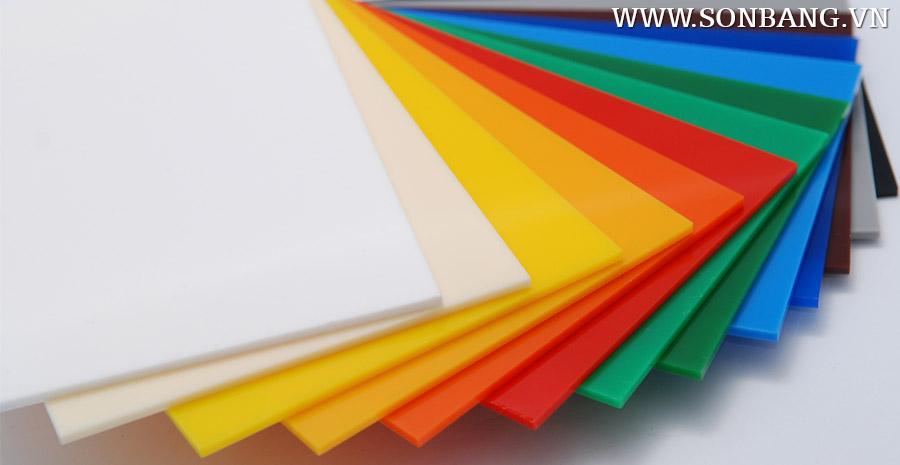 Bảng báo giá tấm nhựa mica acrylic NEW 2018