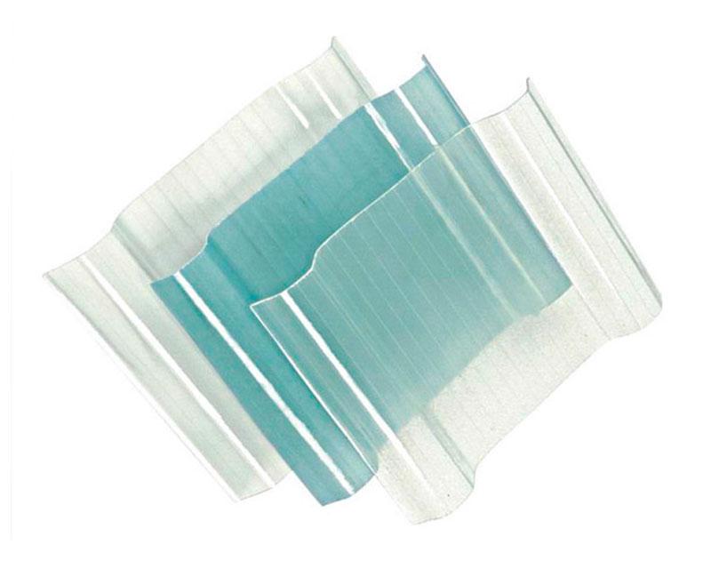Tấm tôn sóng lợp lấy sáng polycarbonate đặc ruột