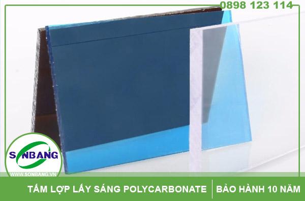 Bán tấm polycarbonate đặc chịu lực cách nhiệt