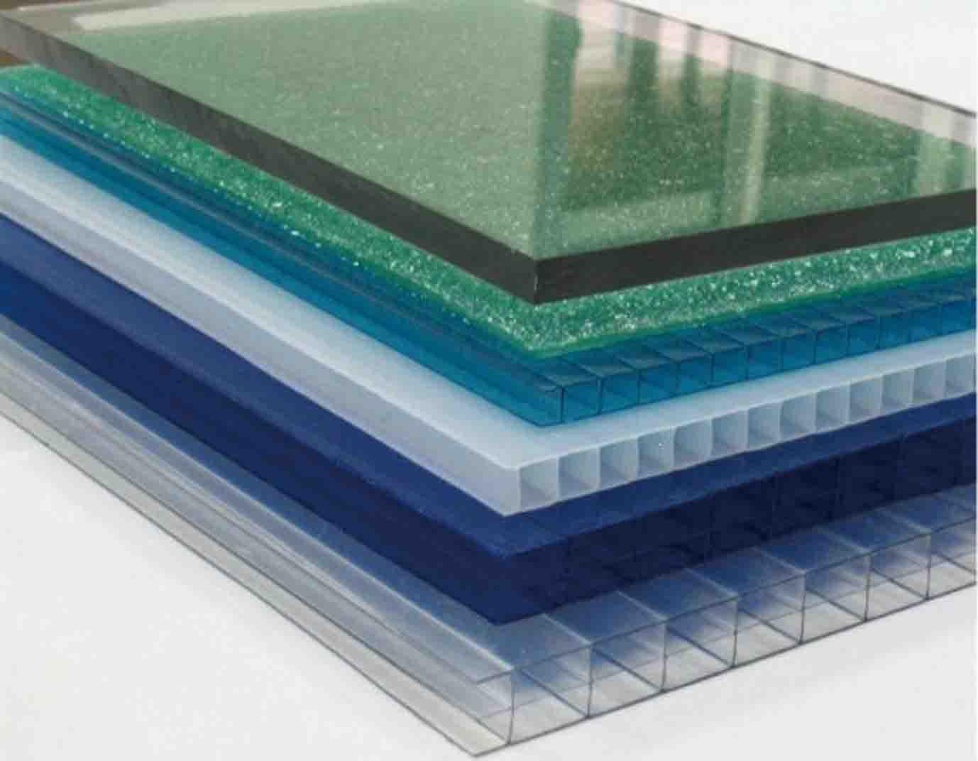 Các loại tấm lợp nhựa thông minh lấy sáng