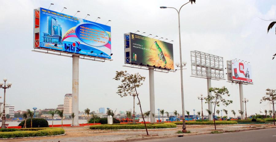 Công ty chuyên thi công công trình quảng cáo tấm lớn ảnh 1