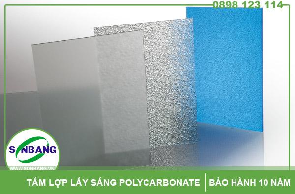 Tấm lợp lấy sáng polycarbonate cường lực
