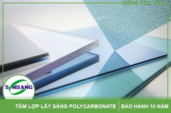 Kích thước của tấm lấy sáng thông minh polycarbonate