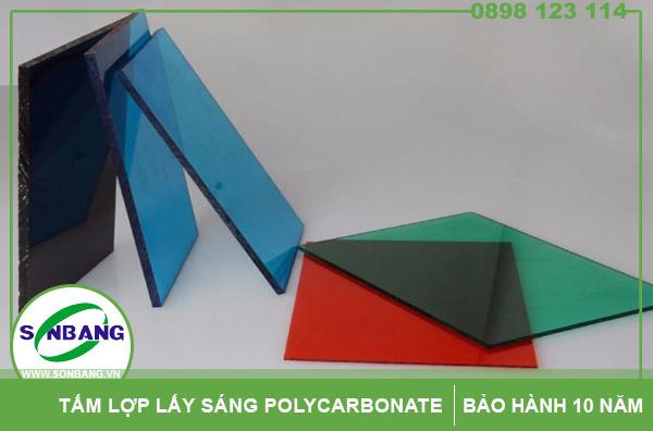 Mua tấm lợp thông minh lấy sáng polycarbonate ở đâu