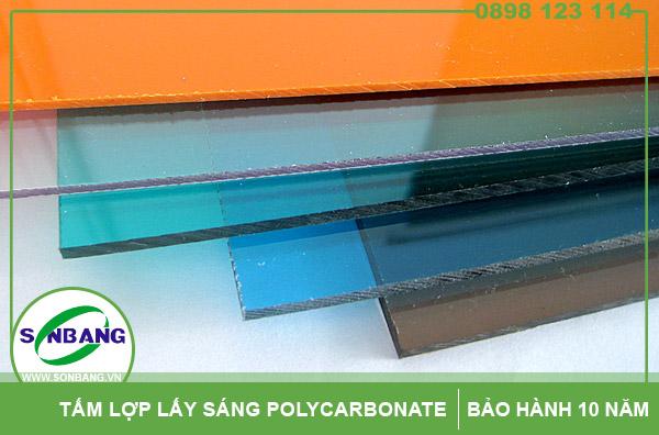 Tấm lợp bằng nhựa poly có tính cách nhiệt