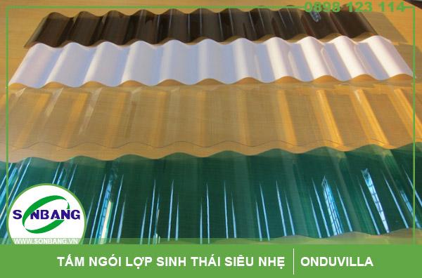 Tấm lợp nhựa sóng poly đặc