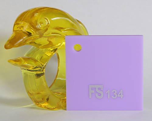 Tấm mica màu tím sữa FS134