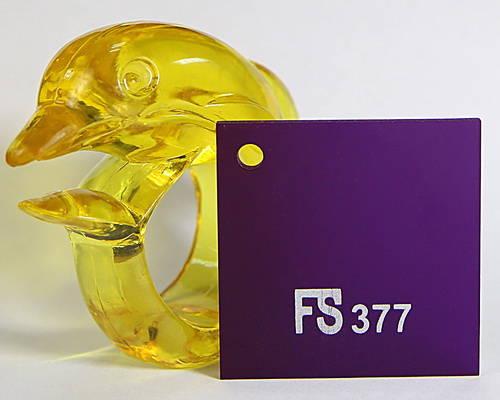 Tấm mica màu tím đậm FS377